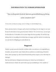 Hent det fulde dokument som PDF her - Uv-Sport