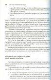 La condición necesaria: el aprendizaje cooperativo - Coordinación ... - Page 6