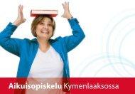 Aikuisopiskelu Kymenlaaksossa-opas - Kymenlaakson ...