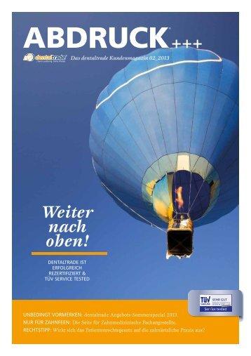 Download ABDRUCK 02/13 - Zahnersatz