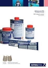 Adhesivos de PVC PVC solvent cement - Astralhavuz.com.tr