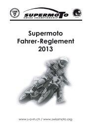 Supermoto Fahrer-Reglement 2013 - Supermoto.ch