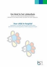 Project4:brochure UKIZ - Bronovo Ziekenhuis
