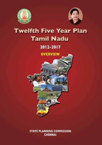 Twelfth Five Year Plan Tamil Nadu - Tamil Nadu Government