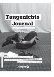 geht's zum Taugenichtsjournal Nr. 2 - Deutsches Theater