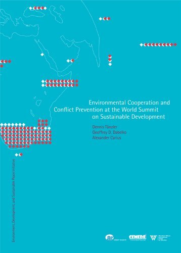 Environmental Cooperation and Conflict Prevention ... - WaterWiki.net