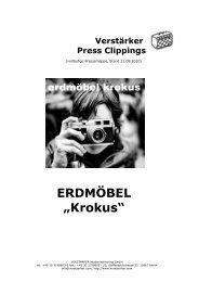 Verstärker Press Clippings - Deutsches Theater