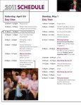2011 NBCC Conference Program - National Breast Cancer Coalition - Page 6
