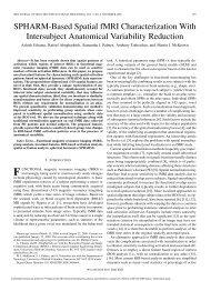 SPHARM-Based Spatial fMRI Characterization - Biomedical Signal ...