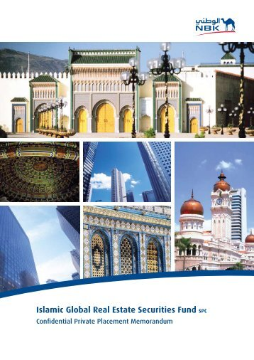 Islamic Global Real Estate Securities Fund SPC - National Bank of ...