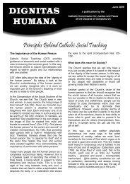 Dignitas Humana - June 2008.pdf - Catholic Diocese of Christchurch