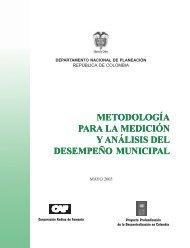 Metodología para la Medición y Análisis del Desempeño Municipal