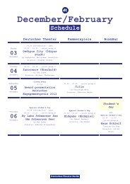 PDF-Version - Deutsches Theater