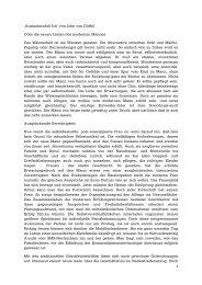 Auslaufmodell Ich' von John von Düffel Oder die neuen Leiden des ...