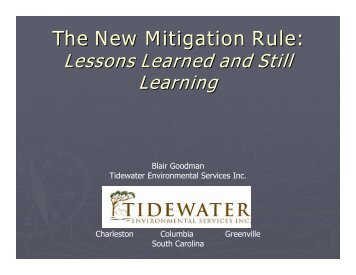 The New Mitigation Rule: