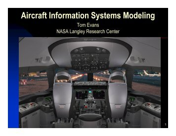 Aircraft Information Systems Modeling 2 - Morgan State University