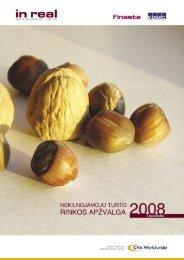 NT rinkos apžvalga 2008 m. I pusmetis (Inreal) - SPOT