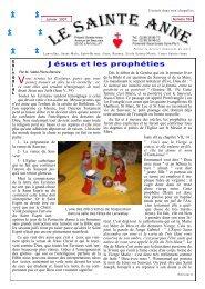 Jésus et les prophéties - La Porte Latine