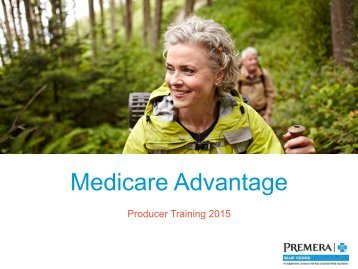 2014 Producer Training PowerPoint - Premera Blue Cross