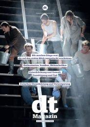 DT Magazin | Ausgabe 3 - Spielzeit 2010/11 - Deutsches Theater