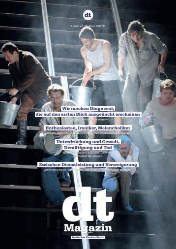 DT Magazin   Ausgabe 3 - Spielzeit 2010/11 - Deutsches Theater