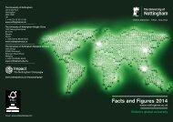 Facts & Figures - University of Nottingham