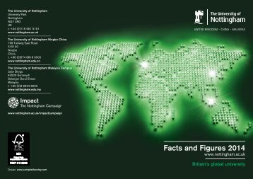 Facts & Figures - University of Nottingham