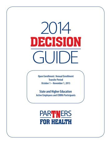 Decision Guide - TN.gov