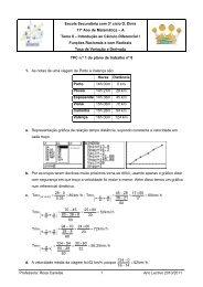 Resolver o exercício 1 da página 74
