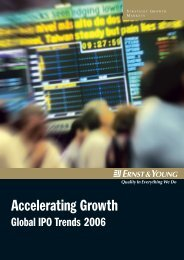 Accelerating Growth - Ernst & Young