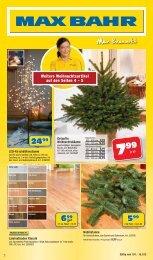 Weitere Weihnachtsartikel auf den Seiten 4 – 5 - Max Bahr