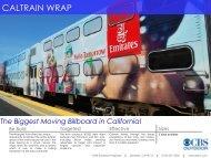 CALTRAIN WRAP - CBS Outdoor