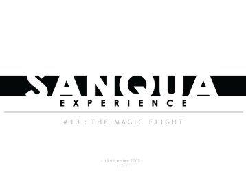 Experience 13 - Sanqua