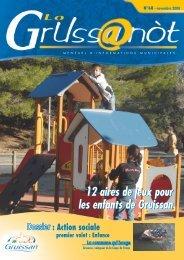 Lo Grussanòt Novembre 2008 PDF - Gruissan