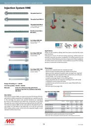 Injection System VME - MKT Metall-Kunststoff-Technik GmbH & Co ...