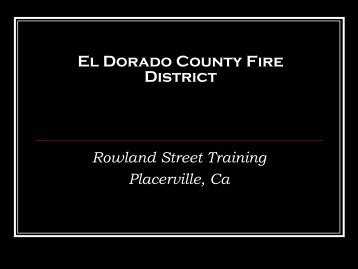 El Dorado County Fire District