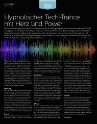 Trance Experts - Hypnotischer Techtrance mit Herz ... - plasticAge.de