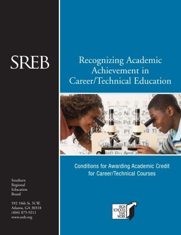 Recognizing Academic Achievement in Career/Technical Education