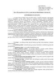 PATVIRTINTA Šilutės rajono savivaldybės tarybos 2006 m ...