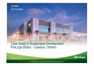 ProLogis Bolton Case Study - Credit Valley Conservation