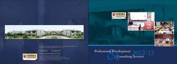 brochure 2012-13 - Institute of Management