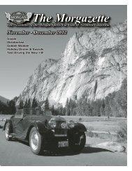 November-December 2012 - Morgan Cars for Sale