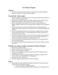 USC Masters Program-Bogdanowicz