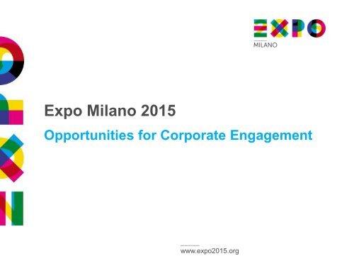 Diapositiva 1 - Expo 2015