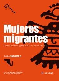 Mujeres migrantes trayectoria laboral y perspectiva de ... - UPNFM
