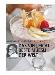 38-39_FB_Bircher HO 3_2012.indd - Schweizer Hoteljournal