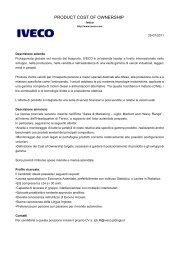 business plan berretti srl