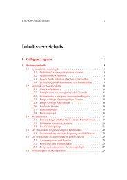 Kapitel 14 - Fakultät für Mathematik und Informatik
