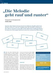Leseprobe Musik & Bildung 3 2013 - Schott Musikpädagogik