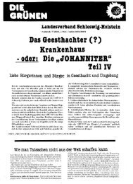 Geesthachter Flugblatt Nr. 4 - Thomas Wüppesahl